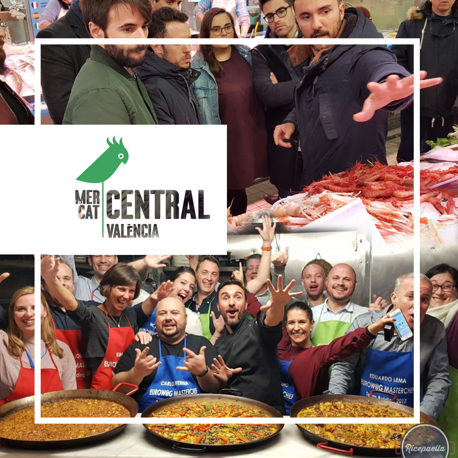Tour Mercado Central + Taller de arroces @Ricepaella